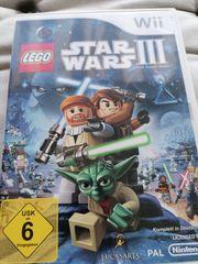 Wii Spiel Star Wars III