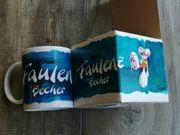 Diddl Faulenzer-Becher Steingut-Tasse Kaffeetasse - Neu