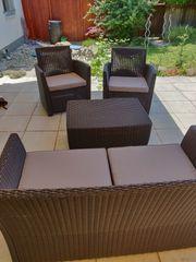 Allibert Polyrattan Gartenmöbel Lounge