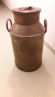 antik belgische Milchkanne ca 60