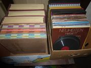 150 Schallplatten günstig abzugeben