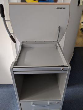 Büromöbel - Mobiler Arbeitsplatz-Homeoffice-Rollcontainer-top-zustand