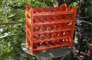 Weinregal Kunststoff rot für 30