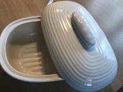 Brotdose weiss Keramik