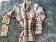 Bogner Pullover Norwegermuster Wolle Kaschmir