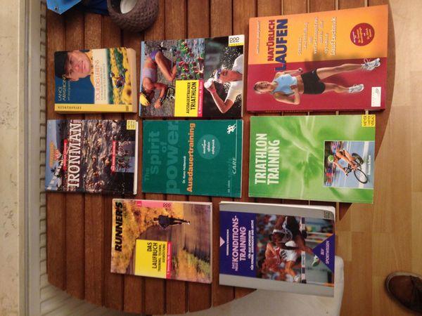 8 Lauf und Triathlonbücher Einzelverkauf