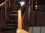 2-Zimmer Maisonette-Penthouse-Wohnung ganz in Holz