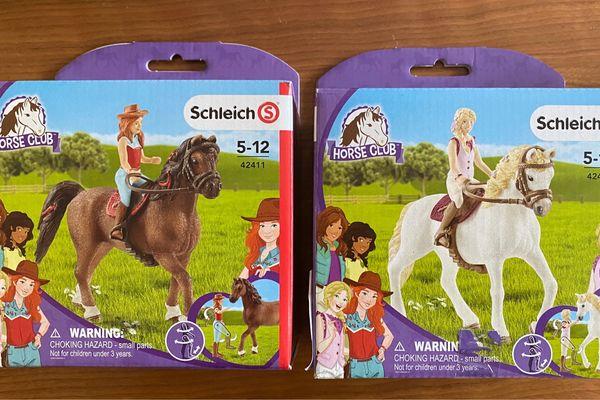 3x SCHLEICH Horse Club mit