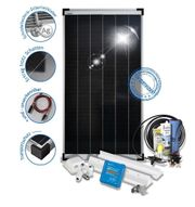 150W Solaranlage MPPT PERC Schindeltechnik
