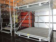 Fassaden- Modul-Gerüst- und Überdachungssysteme