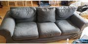 3er Sofa Ikea Ektorp Dunkelgrau