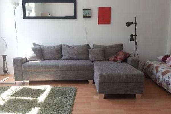 Schöne Große Couch Sofa Mit Schlaffunktion Federkern In Berlin
