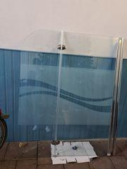 Duschwand Badewannenaufsatz