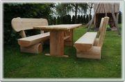 Gartenbank aus Holz Holzmöbel Gartenmöbel
