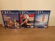 Sammlerstücke - 3 Bände GEO Special