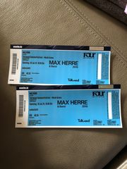 2 x Max Herre Tickets