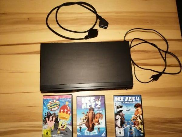 DVD CD Player mit Filmen