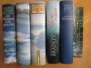 6 Bücher Fantasy König Artus