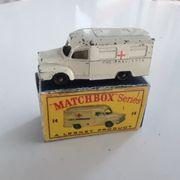 Matchbox Lomas Ambulance Lesney