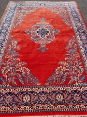 Echter Keshan Perserteppich Orienttepich Antik