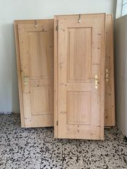 Holztüren samt Zargen