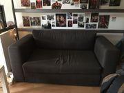 Ikea Askeby 2er Bettsofa grau