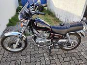 Suzuki GN 125 mit 250ccm