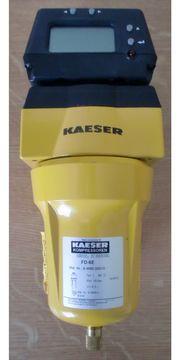 Kaeser FD-6E Druckluftfilter Zyklonabscheider Digitalanzeige