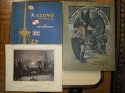 Sammelsurium von Alben sowie Buch