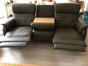 Superbequeme Echtleder-Couch