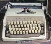 Schreibmaschine von Triumph