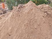 Erdaushub auffüllmaterial Erde Sand
