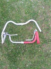 3 Fahrrad Rest Teile Lenker