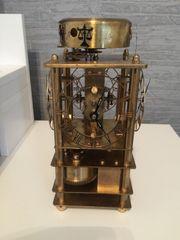 Messinge kaminuhr Uhrmacherschule RARE Einzelstück
