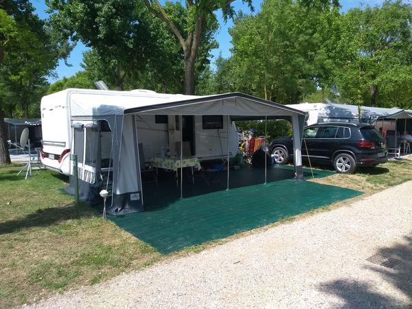 Verkaufe Wohnwagen Hymer Nova SL