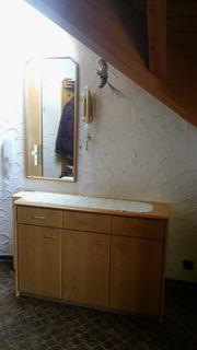 Gardarobe Schuhschrank Spiegel 6 Teile