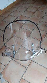 Windschild für Roller 125 ccm