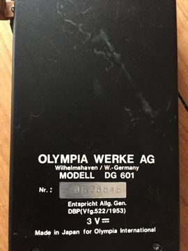 Olympia DG 601 Diktiergerät funktioniert: Kleinanzeigen aus Starnberg - Rubrik Büromaschinen, Bürogeräte
