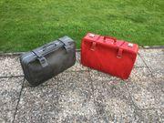 Reisekoffer Leder - zwei wahre RARITÄTEN