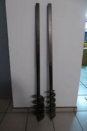 Handerdbohrer 4m 2 Bohrköpfe 90mm