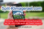 Top-Level com Domain - Split-Klimageraet com -