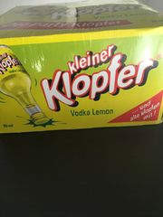 Kleine Klopfer Vodka Lemon 25x20ml