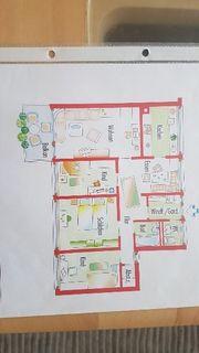 4 5 Zi-Wohnung zu verkaufen