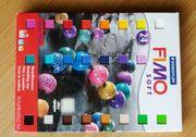 Fimo Knete für Adventskalender