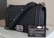 Chanel Boy Bag schwarz Medium