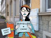 Minijob Schülerjob Aushilfsjob - Zeitung austragen
