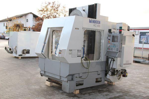 CNC Horizontal Bearbeitungszentrum Mikron HCE