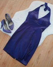 Neckholder Etuikleid Kleid Gr 36