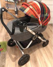 Stokke Scoot Kinderwagen mit Wanne