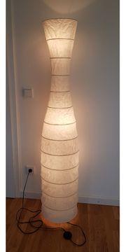 Stehlampe Ikea Papier weiß Storm